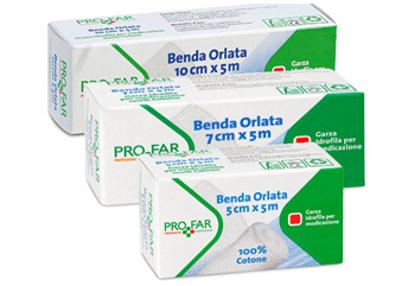 Immagine di BENDA ORLATA 10 CM X 5 M PROFAR
