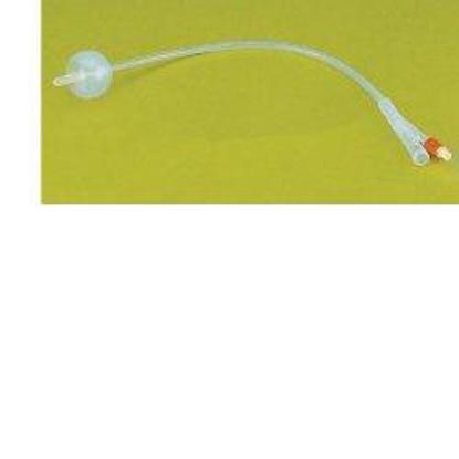Immagine di CATETERE URETRALE FOLEY IN PURO SILICONE CH18 TRE VIE. PUNTA IN NELATON, CAPACITA' DEL PALLONCINO 10ML. SUPERFICIE LISCIA