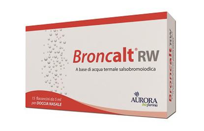 Immagine di BRONCALT RW STRIP 15 STRIP 5 ML