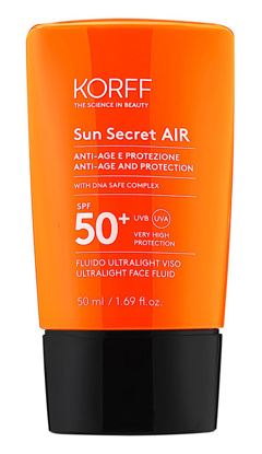 Immagine di KORFF SUN SECRET AIR VISO SPF50+ 50 ML