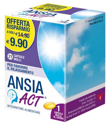Immagine di ANSIA ACT 21 CAPSULE