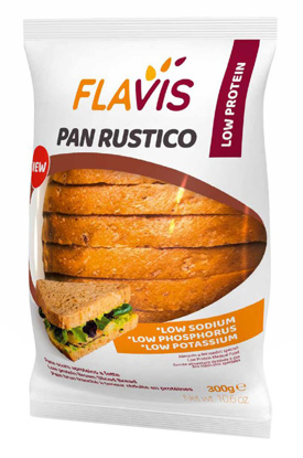 Immagine di MEVALIA FLAVIS PAN RUSTICO 300 G