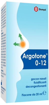 Immagine di ARGOTONE 0-12 GOCCE NASALI 20 ML